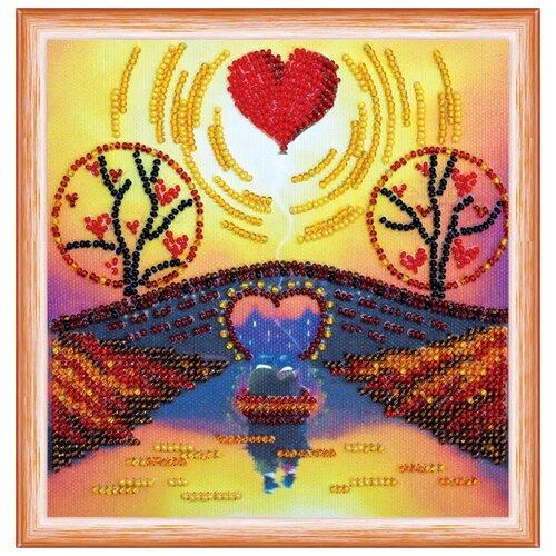 Купить ABRIS ART Набор для вышивания бисером Незабываемый вечер 15 х 15 см (AM-151), Наборы для вышивания