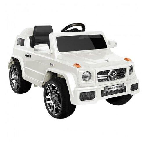 Купить RiverToys Автомобиль Mers O004OO, белый, Электромобили