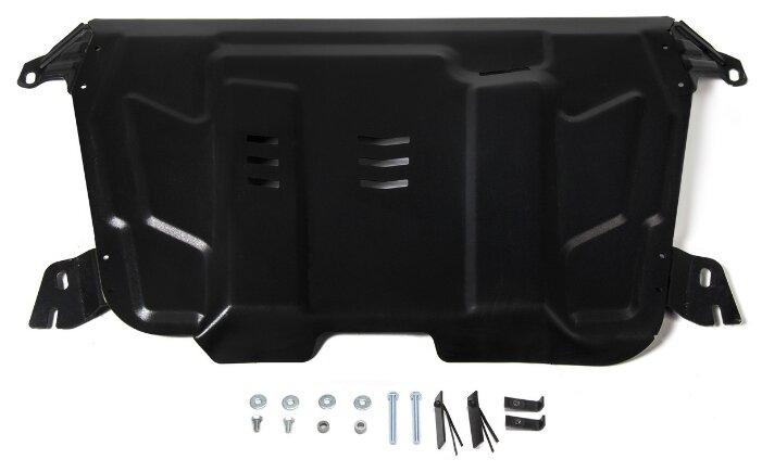 Защита картера двигателя и коробки передач Автоброня 111.09519.1 для Lexus, Lifan, Toyota