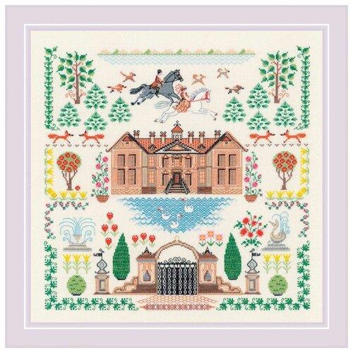 Купить 1917 Набор для вышивания Риолис 'Мой дом' 35*35 см, Наборы для вышивания