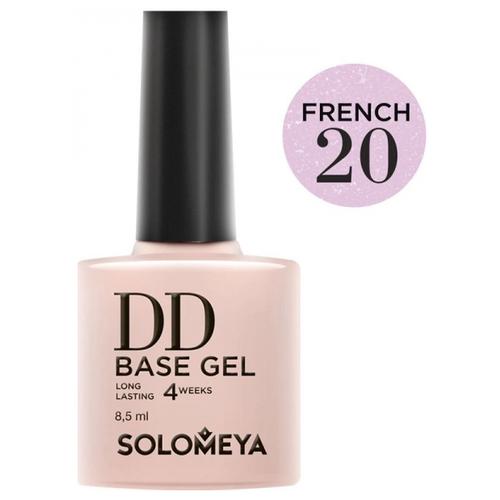 Купить Solomeya базовое покрытие DD Base Gel суперэластичное 8.5 мл French 20