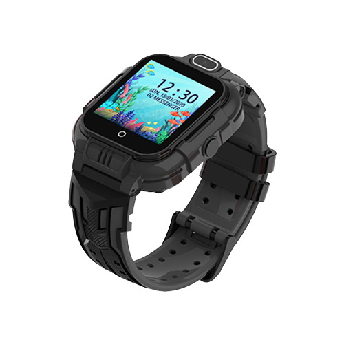 Детские умные часы Smart Baby Watch KT16, черный детские умные часы smart baby watch kt16 голубой