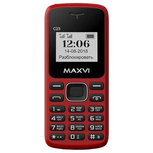 Фото - Телефон MAXVI C23 красный / черный телефон maxvi x650 красный