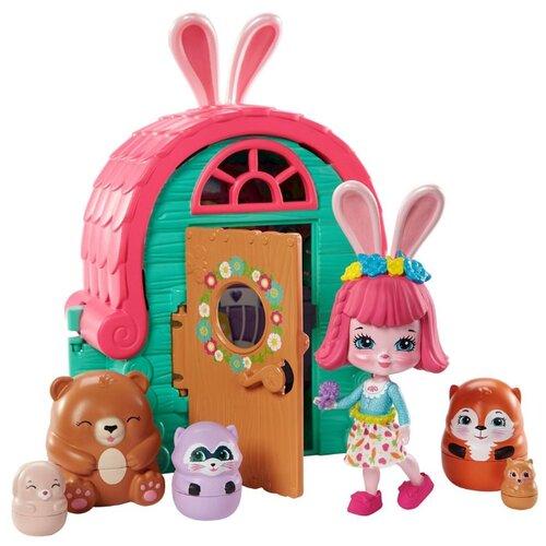 Купить Игровой набор Mattel Enchantimals Секретные лучшие друзья Хижина Бри Кроли GTM47, Игровые наборы и фигурки
