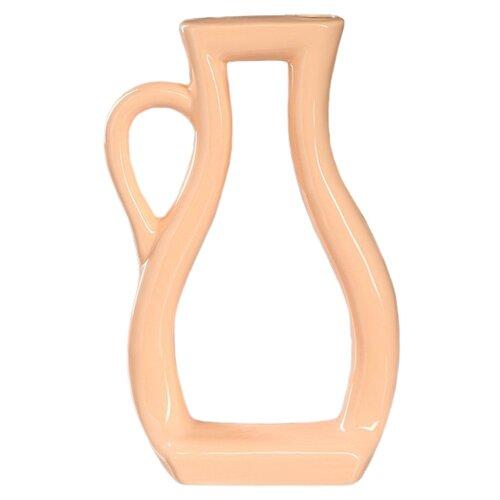 Ваза Керамика ручной работы Арт-хаус кувшин (5034203/1040609), персиковый