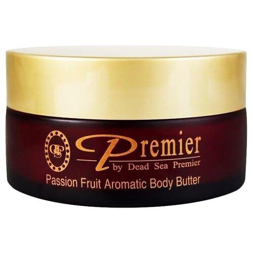 Premier Dead Sea Тающее масло для тела «Фрукт страсти» Aromatic Body Butter - Passion Fruit, 175 гр