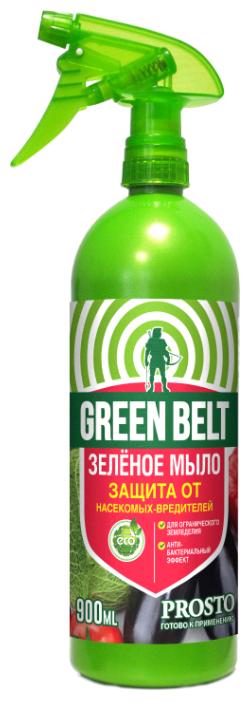 Green Belt Средство для защиты от насекомых-вредителей Зеленое мыло, 900 мл