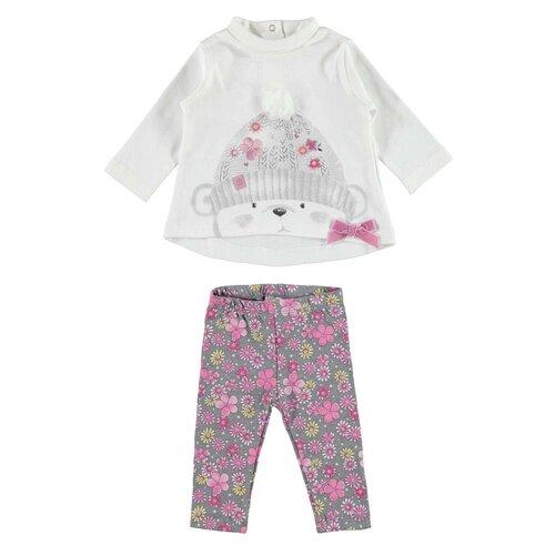 Купить Комплект одежды Ido размер 68, белый/розовый/серый, Комплекты