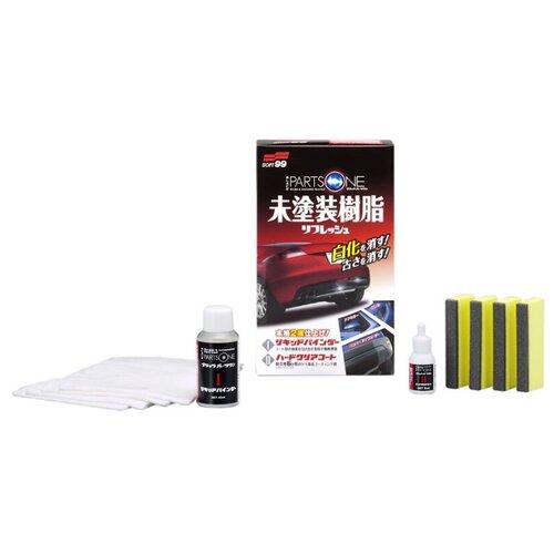 Soft99 Покрытие для неокрашенного пластика BLACK PARTS ONE 40мл+8мл (03134)