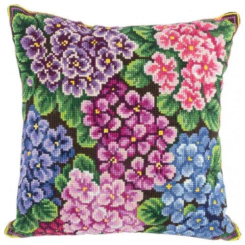 Купить PANNA Набор для вышивания Подушка Фиалки 30 x 30 см (PD-1948), Наборы для вышивания