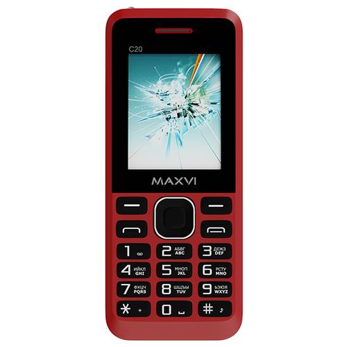 Фото - Телефон MAXVI C20 красный телефон maxvi x650 красный