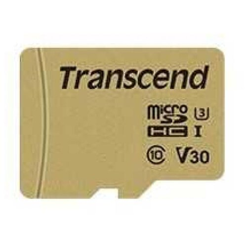 Флеш-накопитель Transcend Карта памяти Transcend 8GB UHS-I U1 microSD with Adapter, MLC