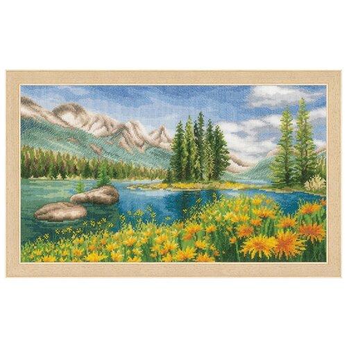 Купить Набор для вышивания VERVACO PN-0174811 Летний пейзаж гор, Наборы для вышивания