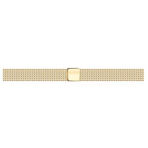 SOKOLOV Браслет из золота 051190, 19 см, 4.36 г