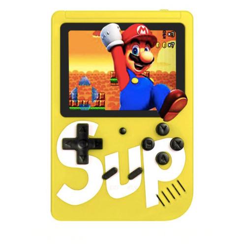 Игровая приставка SUP Game Box / 400 Игр / Желтый