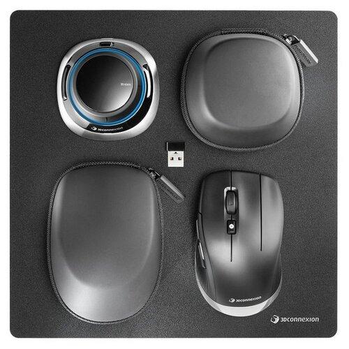 Беспроводная мышь 3Dconnexion SpaceMouse Wireless Kit 2 черный.