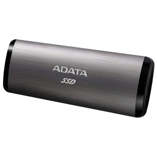 Фото - Внешний SSD ADATA SE760 512 ГБ, титановый серый внешний ssd hp p700 512gb 5ms29aa 512 гб черный