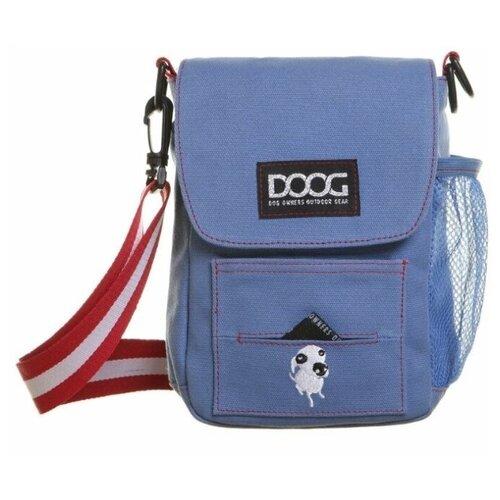 Сумка на плечо DOOG, голубая, 21х25х6см (Австралия)