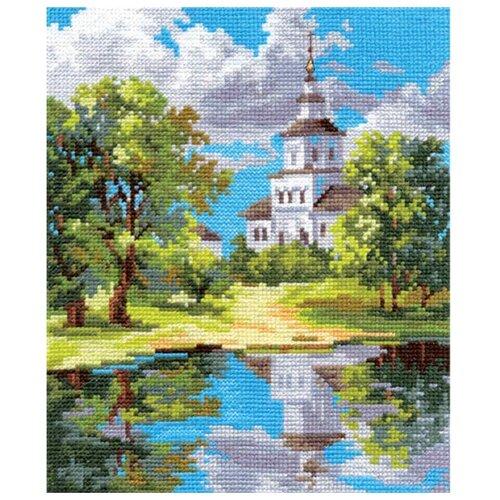 Купить 3-11 Набор для вышивания АЛИСА 'Храм у пруда' 8*21см, Алиса, Наборы для вышивания