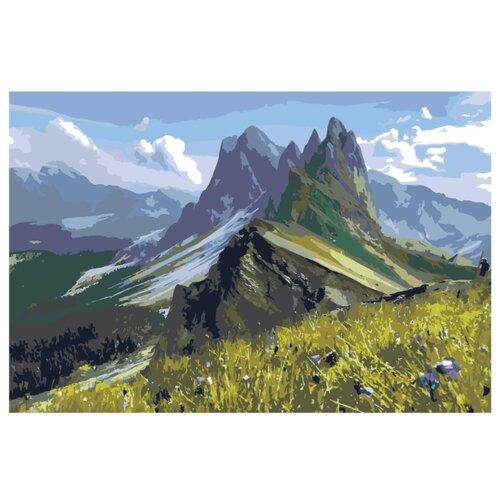 Купить Картина по номерам, 100 x 150, z6871, Живопись по номерам , набор для раскрашивания, раскраска, Картины по номерам и контурам