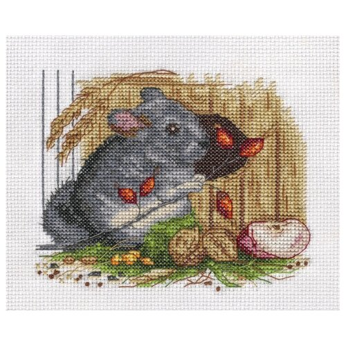 Купить Klart Набор для вышивания Шиншилла 15 х 13 см (8-201), Наборы для вышивания