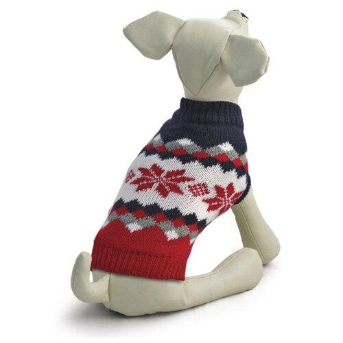 Фото - Свитер для собак Triol Винтаж XXL красный/черный triol triol xxl подгузник для собак весом от 30 кг 10 шт