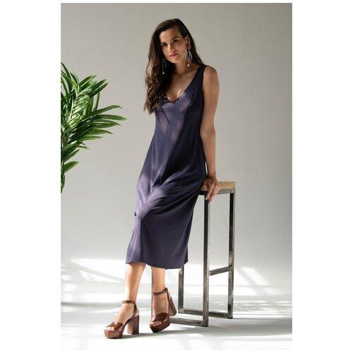 Laete Стильное платье длиной ниже колена, оранжевый, 46