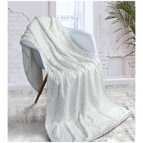 Плед Guten Morgen Cashmere silver, 150x200, серый плед guten morgen шашки 200 x