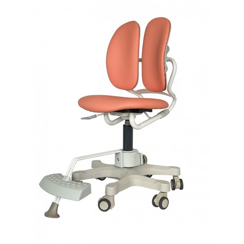 компьютерное кресло duorest kids max детское обивка искусственная кожа цвет светло зеленый Компьютерное кресло DUOREST DR-289SF детское, обивка: искусственная кожа, цвет: коралл