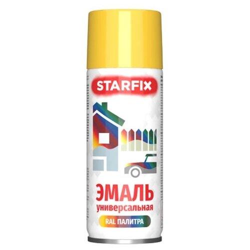 Эмаль STARFIX аэрозольная акриловая RAL 1018 520 мл