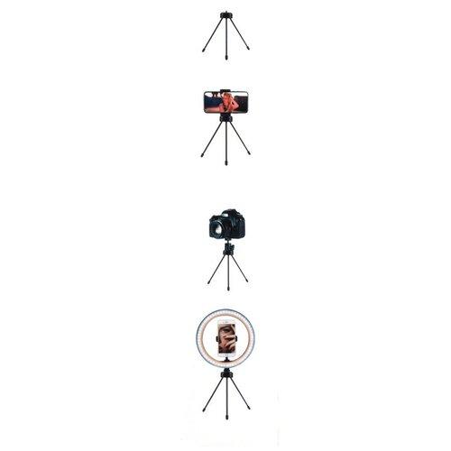 Штатив настольный для телефона для камеры для съемки мини тренога трипод ISA черный