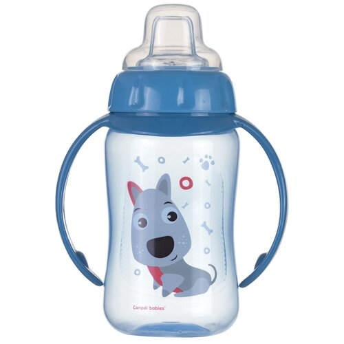 Фото - Поильник-непроливайка Canpol Babies 56/512, 320 мл голубой поильник непроливайка canpol babies 56 512 320 мл бирюзовый