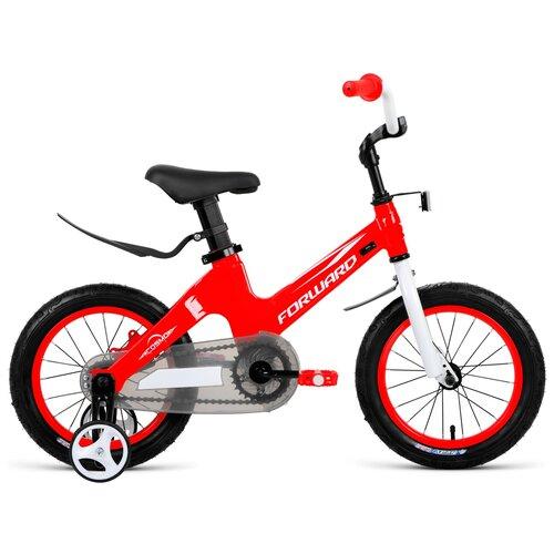 Детский велосипед FORWARD Cosmo 14 (2021) красный (требует финальной сборки)