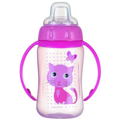 Фото - Поильник-непроливайка Canpol Babies 56/512, 320 мл розовый поильник непроливайка canpol babies 56 512 320 мл бирюзовый