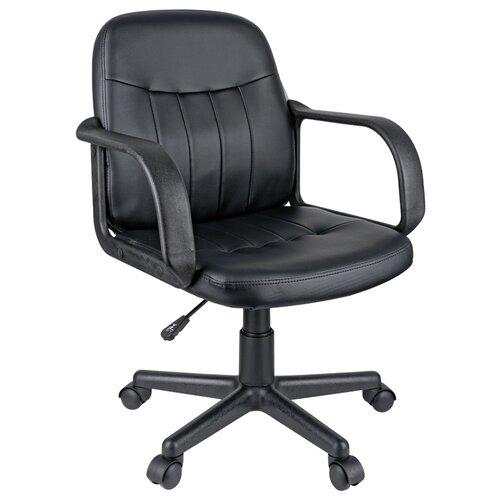 Компьютерное кресло Helmi HL-M01 Brief офисное, обивка: искусственная кожа, цвет: черный