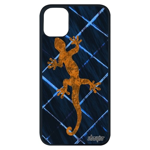 Чехол для Айфона 11 pro max французский дизайн Саламандра Salamander Амулет