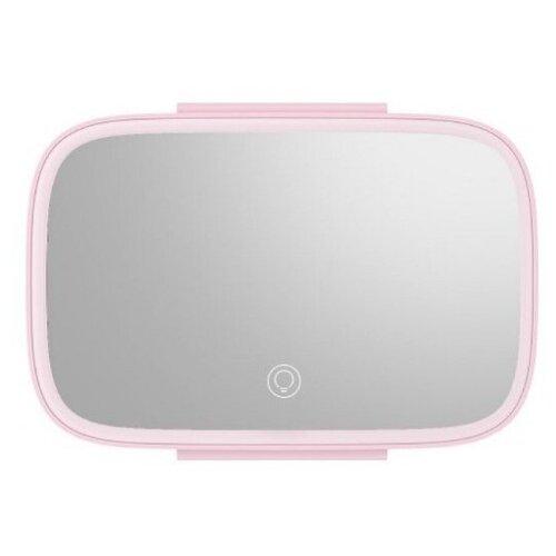 Автомобильное зеркало для макияжа Baseus Delicate Queen Car Touch-up Mirror с подсветкой (CRBZJ01-02, CRBZJ01-04) (pink)