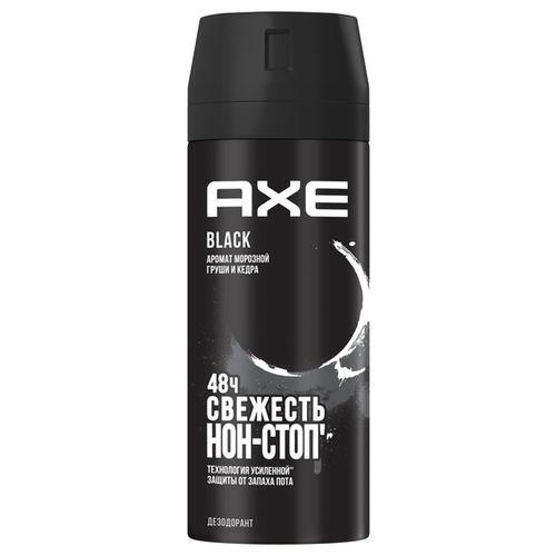 дезодорант спрей axe кожа и печеньки 150 мл Дезодорант спрей Axe Black, 150 мл