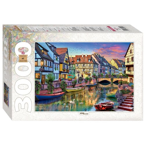 Пазл Step puzzle Art Collection. Канал Кольмар. Франция (85022), 3000 дет.