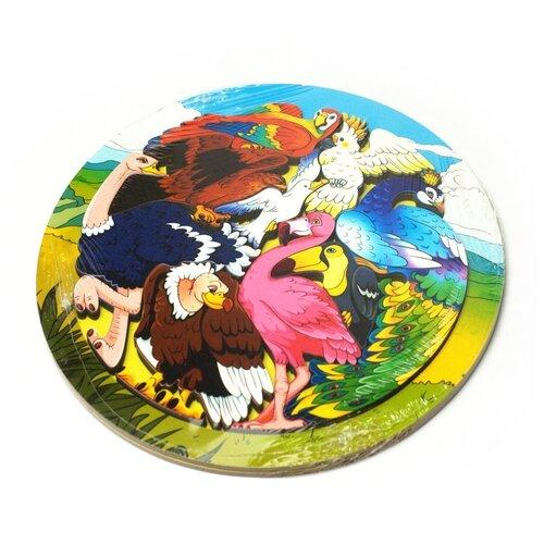 Купить Зоопазл Экзотические птицы Нескучные игры 8277, Пазлы