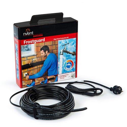 Греющий кабель, вилка Raychem FROSTGUARD 190 Вт 19 м