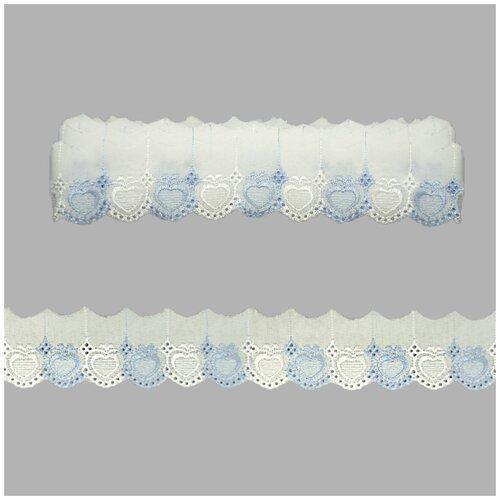 Купить Шитье 420, 5, 5см*9м Астра (голубой), Astra & Craft, Декоративные элементы