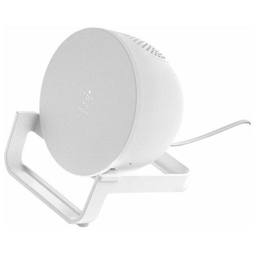 Фото - Беспроводное зарядное устройство с динамиком Belkin AUF001vfWH, white зарядное устройство belkin universal microusb white