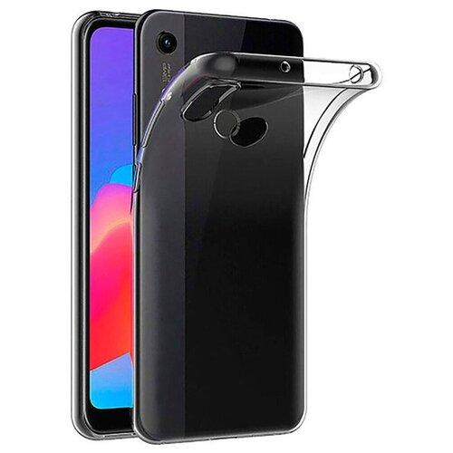 Тонкий силиконовый чехол для Huawei Y6 2019г., Y6 Prime 2019г., Honor 8A, 8A Prime, 8A Pro и Y6s / Прозрачный Тонкий силиконовый чехол для Y6 2019г., Y6 Prime 2019г., Хонор 8A, 8A Прайм, 8A Про и Y6С / Премиальный силиконовый чехол с защитой от прилипаний недорого