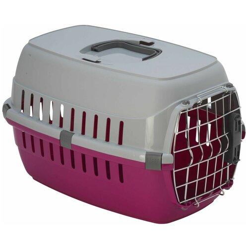 Фото - Клиппер-переноска для кошек и собак Moderna Road Runner I Spring Lock 30.1х32х49 см ярко-розовый клиппер переноска для собак imac linus cabrio 50х32х34 см розовый
