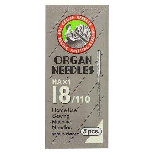 Игла/иглы Organ Universal 110 серебристый