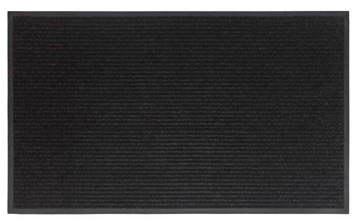 Коврик придверный Велий Техно черный 90*150/влаговпитывающий коврик/ковер в дом/в прихожую/коврик в коридор/ на ПВХ/резиновый/ не скользящий — купить по выгодной цене на Яндекс.Маркете