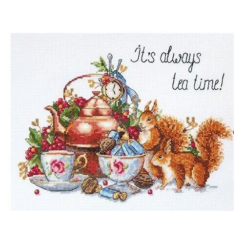 Купить Мережка Набор для вышивания Время для чая 26 х 21 см (K-85), Наборы для вышивания