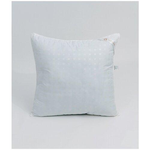 Подушка SELENA Акварель Полиэфирное волокно, 70x70 см, белый