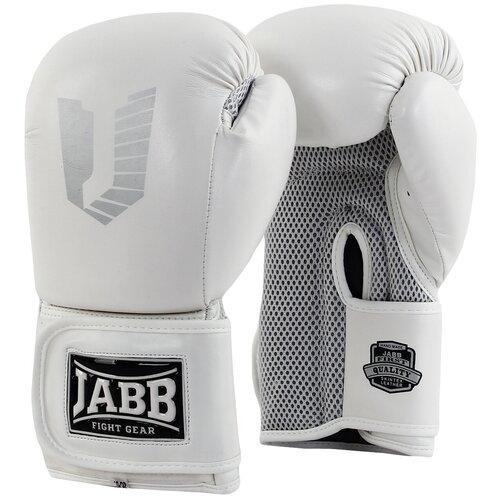 Перчатки бокс.(иск.кожа) Jabb JE-4056/Eu Air 56 белый 10ун.